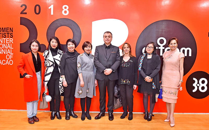 嘉宾参与ARTFEM 2018开幕式